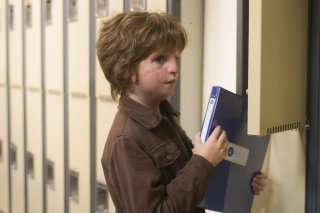 Wonder: Jacob Tremblay in una scena del film