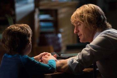 Wonder: Owen Wilson e Jacob Tremblay in una scena del film