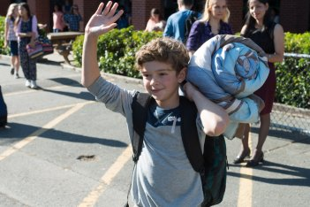 Wonder: Noah Jupe in una scena del film
