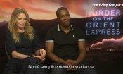 Assassinio sull'Orient Express: video intervista a Michelle Pfeiffer e Leslie Odom Jr.