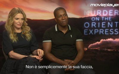 Assassinio sull'Orient Express: video intervista a Michelle Pfeiffer e Leslie Odom Jr.