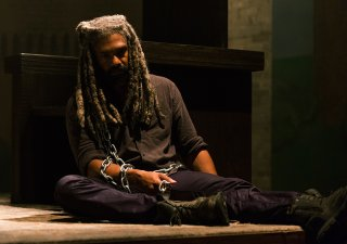The Walking Dead: Khary Payton in una foto di How It's Gotta Be