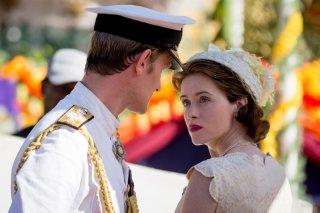 The Crown: Matt Smith e Claire Foy in un'immagine della seconda stagione