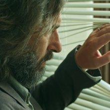 Il giocatore invisibile: Luca Lionello in una scena del film