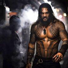 Aquaman: una nuova foto di Jason Momoa sul set