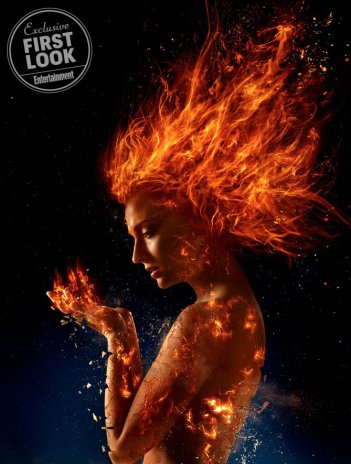 Dark Phoenix: la copertina di Entertainment Weekly