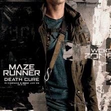Maze Runner: La Rivelazione, Dylan O'Brien in un character poster