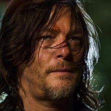 The Walking Dead: Norman Reedus in una scena dell'episodio E' così che deve essere