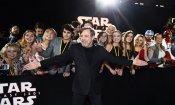 Star Wars: Gli Ultimi Jedi,  la premiere mondiale onora la memoria di Carrie Fisher