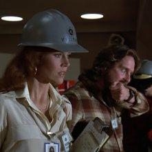 Sindrome cinese: Jane Fonda in una scena del film