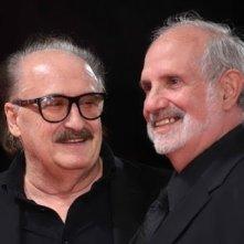 Pino Donaggio insieme a Brian De Palma