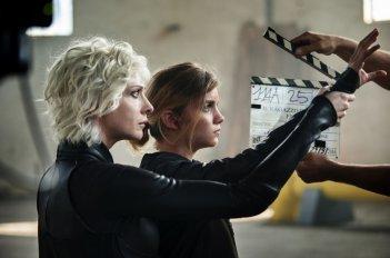 Il ragazzo invisibile - Seconda generazione: Galatéa Bellugi e Ksenia Rappoport sul set del film