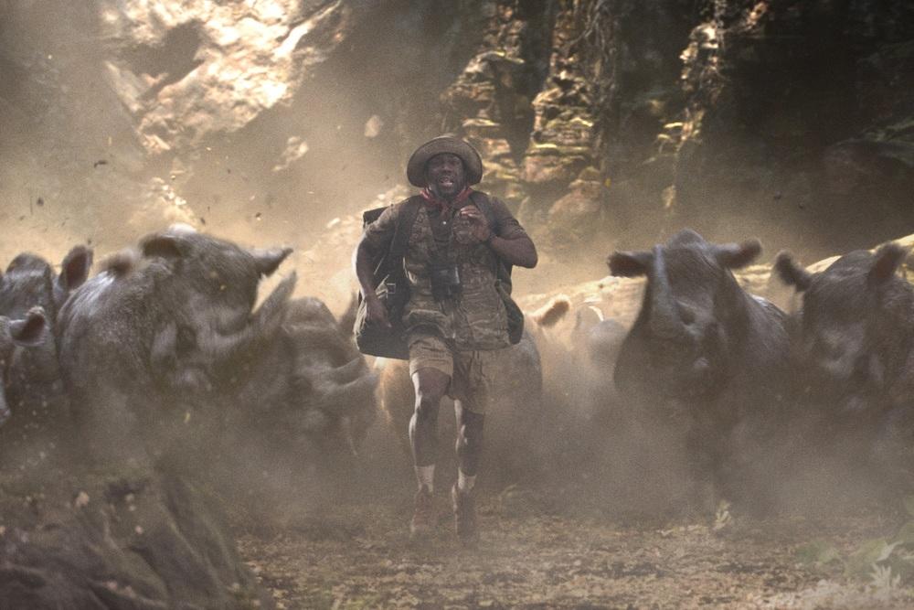 Jumanji - Benvenuti nella giungla: Kevin Hart in una scena del film