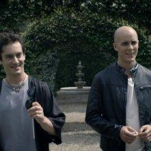 L'assoluto presente: Yuri Casagrande Conti e Marco Foschi in una scena del film