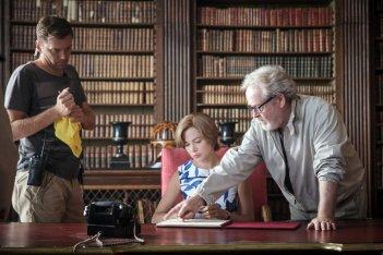 Tutti i soldi del mondo: Ridley Scott e Michelle Williams sul set del film