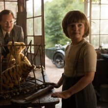 Vi presento Christopher Robin: Stephen Campbell Moore e Will Tilston in una scena del film