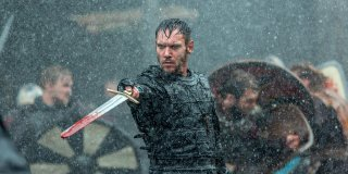 Vikings: Jonathan Rhys Meyers in una foto della quinta stagione