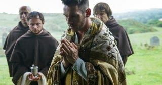 Vikings: una foto di Jonathan Rhys Meyers