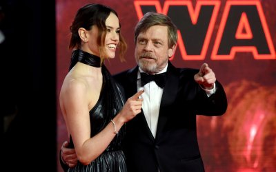 Sul red carpet di Star Wars: Gli Ultimi Jedi, tra maestri e friendzone