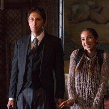 Poveri ma ricchissimi: Tess Masazza e Ubaldo Pantani in una scena del film