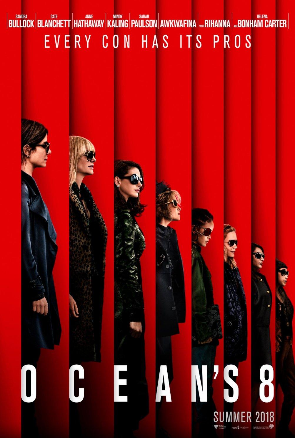 Ocean's Eight: un poster del film