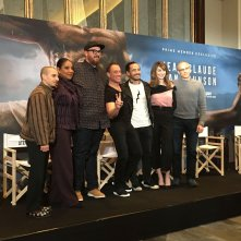 Jean-Claude Van Johnson: il cast in conferenza stampa a Parigi