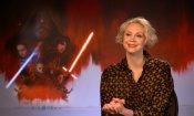 """Gwendoline Christie è Phasma in Star Wars: """"La mancanza di empatia è nemica dell'umanità"""""""