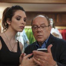 Benedetta follia: Ilenia Pastorelli e Carlo Verdone in una scena del film
