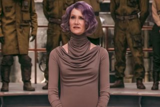 Star Wars: Gli Ultimi Jedi: Laura Dern in un'immagine tratta dal film