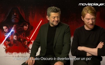 Star Wars: Gli ultimi Jedi - Video intervista a Andy Serkis e Domhnall Gleeson