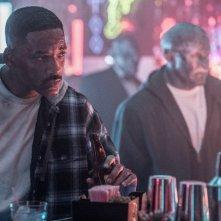 Bright: Will Smith e Joel Edgerton in un momento del film