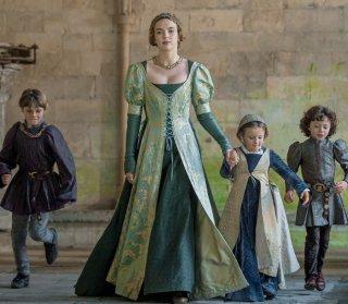 The White Princess: Jodie Comer in una foto della serie