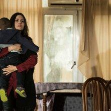 Gomorra: Ivana Lotito in una scena del penultimo episodio
