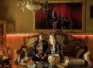 Gomorra: Cristina Donadio e Cristiana Dell'Anna in una scena del penultimo episodio