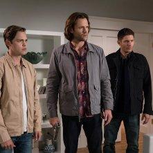 Supernatural: Jensen Ackles, Alexander Calvert e Jared Padalecki nella stagione tredici