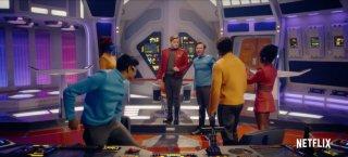 Black Mirror: una scena dell'episodio USS Callister