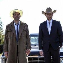 Supernatural: Jensen Ackles e Misha Collins nella stagione tredici