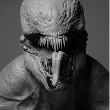 Venom: una scultura ritrae il simbionte