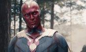 Avengers 4: Paul Bettany posta una foto dal set con indosso il costume di Visione