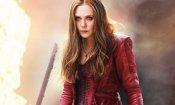 Avengers 4: Elizabeth Olsen condivide un video dietro le quinte per la fine delle riprese
