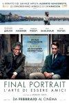 Locandina di Final Portrait - L'arte di essere amici