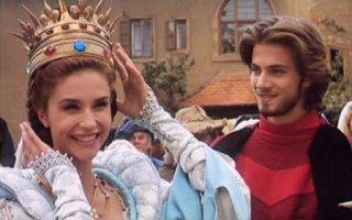 Alessandra Martines e Kim Rossi Stuart in Fantaghirò
