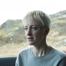 Black Mirror: una scena con Andrea Riseborough nell'episodio Crocodile