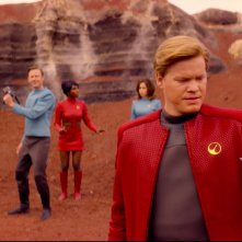 Black Mirror: Jesse Plemons in una scena dell'episodio USS Callister