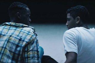 Moonlight: un momento del film
