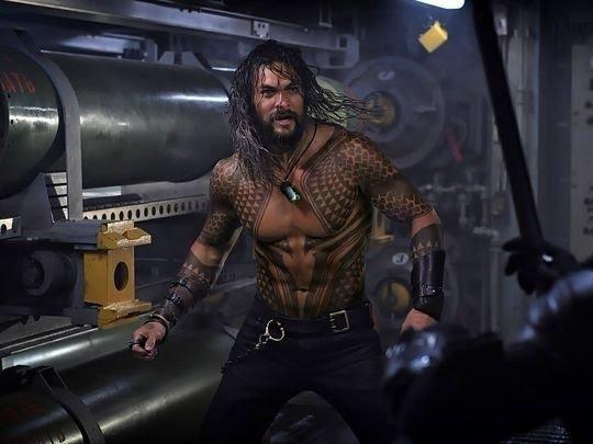 Aquaman: Jason Momoa in una nuova immagine del film