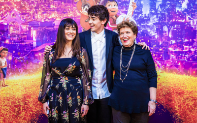 Coco: l'emozione e la magia sull'orange carpet del film Pixar