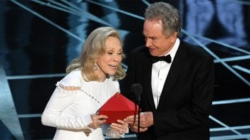 Warren Beatty e Faye Dunaway agli Oscar 2017