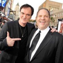 Tarantino con Harvey Weinstein