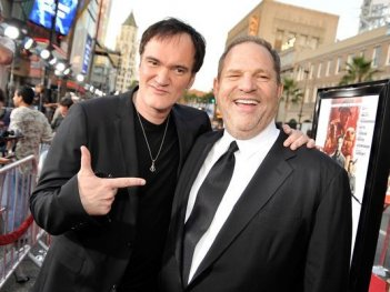 Tarantino con Harvey Weinstein
